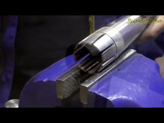 Инжекционная горелка из куска трубы и болта by;trwbjyyfz ujhtkrf bp recrf nhe,s b ,jknf