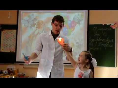 Научное шоу CRAZY-наука - эксперимент горящая рука