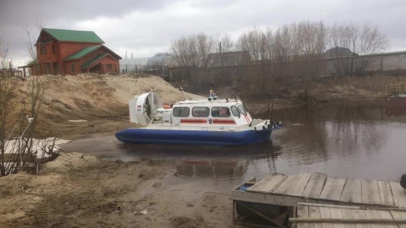 24 мая 2018. Ненецкий АКАСЦ. Выход на мониторинг ледовой обстановки.