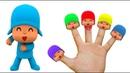 Семья пальчиков Песенка для детей УЧИМ ЦВЕТА Детские клипы