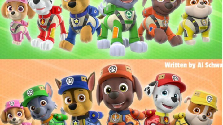 PAW Patrol Ultimate Rescue Pups Save A Swamp MonsterUltimate Rescue Pups And The Hidden Bones