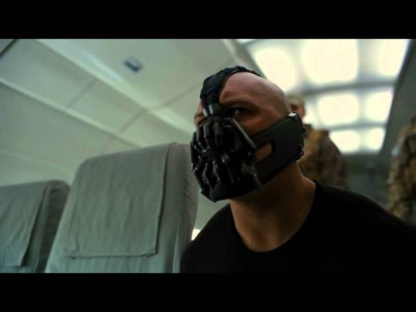 The Dark Knight Rises - Plane Hijack Scene