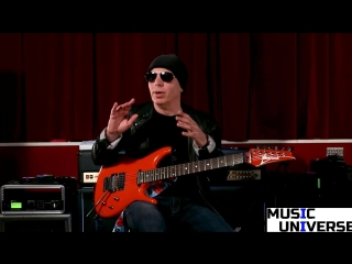 Гитарный метод Джо Сатриани - Часть 4 - Интервалы/лады (Music Universe)