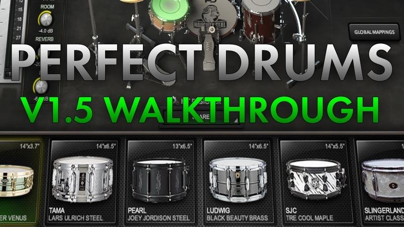 Perfect Drums - v1.5 Walkthrough