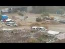 Ankarada Sel Felaketi 6 Yaralı! İşte O Anlar...
