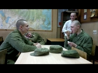 Прикол в российской армии.