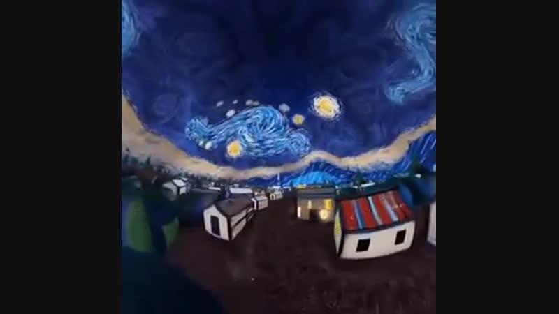 Виртуальный мире Винсента ван Гога