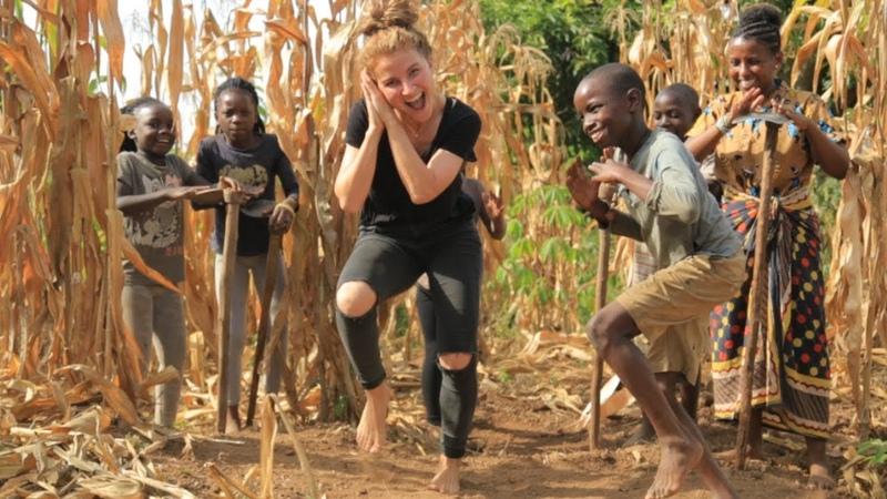 Masaka Kids Africana Dancing Joy Of Togetherness ft 3wash_hip_hop Karina Palmira