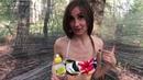 Женская баня в лесу лайфхак жарим шашлык
