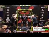 Оделл Мануэль, приседания 440 кг