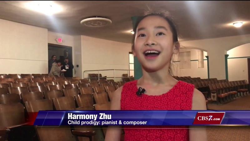 Child Prodigy, Harmony Zhu, performs with Big Spring Symphony
