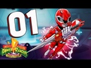 Mighty Morphin Power Rangers MEGA BATTLE Part 1 Invasion Day of the Dumpster Co Op Walkthrough