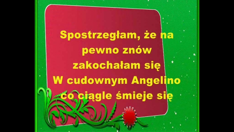 Angelino Karaoke Alexmar (cover by Aleksandra Pławińska)