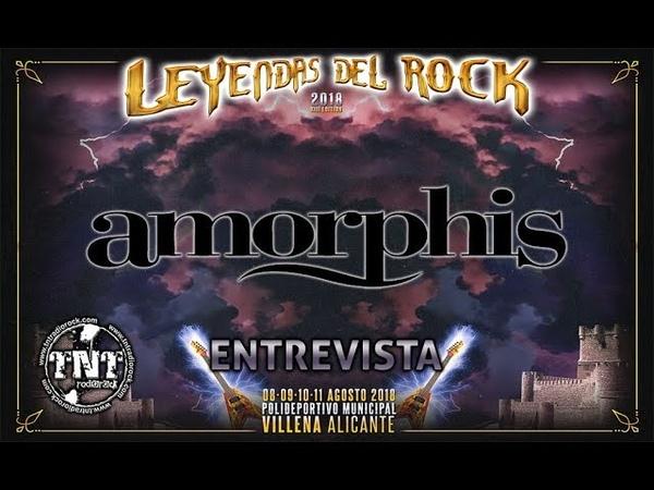 Interview with Tomi Koivusaari at Leyendas del Rock 2018