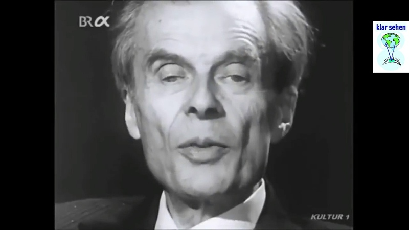 Bedenklich Aldous Huxley 1958 über die Kontrolle der Massen - Schöne neue Welt