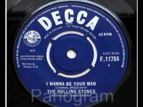 The Rolling Stones - I Wanna Be Your Man (original UK 45)