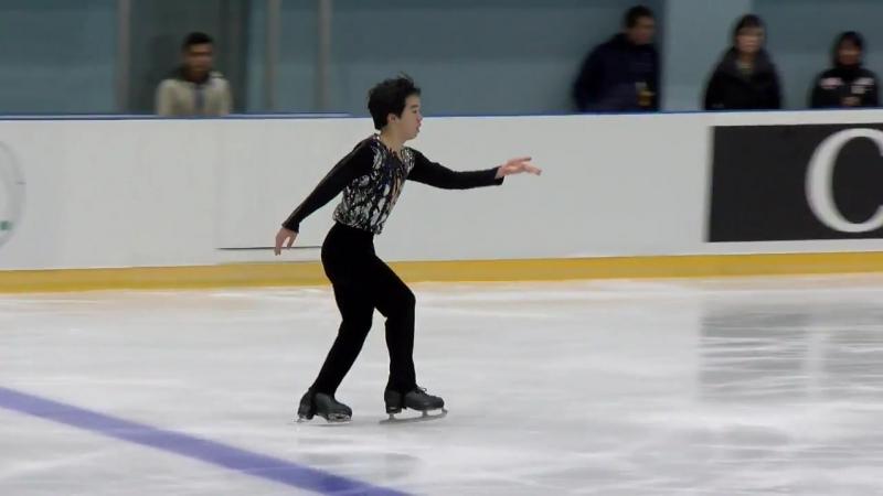 Yuma KAGIYAMA (JPN) _ Men Free Skating _ Yerevan 2018