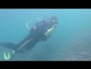 Мое первое подгружение на 9 метров. Черное море. п. Новомихайловский Туапсинский район