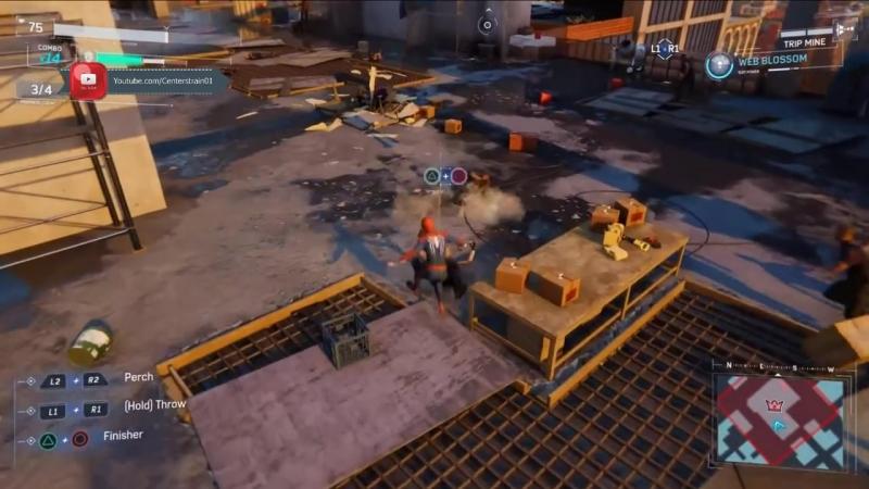 Marvel Spider-man - Gameplay Demo - Sony E3 2018