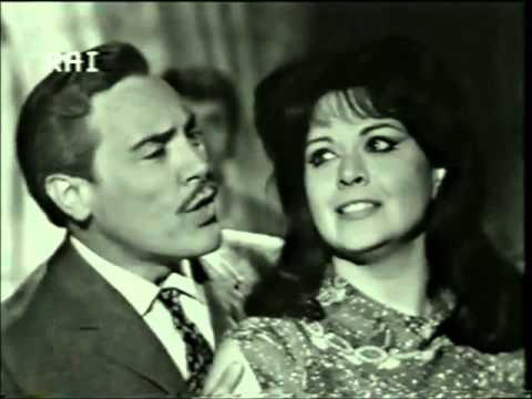 Mario Del Monaco e Gianna Galli - LA VEDOVA ALLEGRA - Tu quel chiosco vedi là
