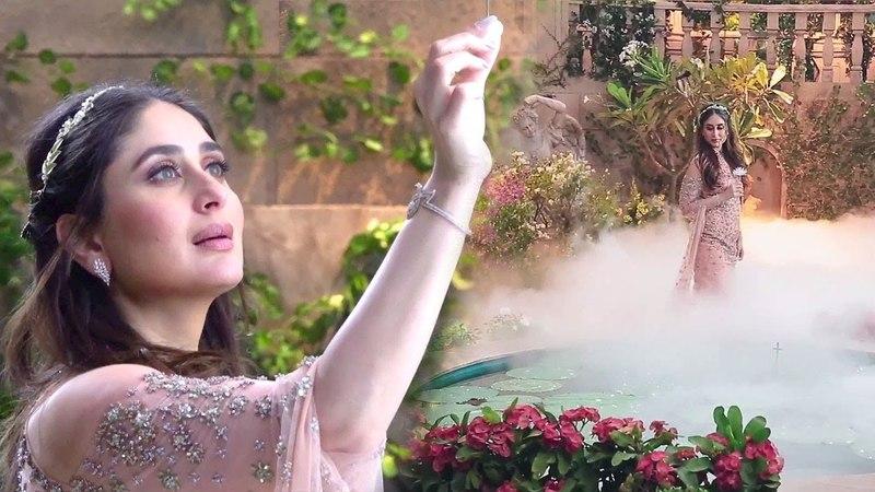 Kareena Kapoor Shooting For New Ad Mr Mahkhana In Mehboob Studio (Inside Video)