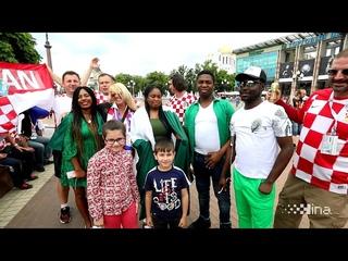 SP Rusija: Hrvatski navijači u Kalinjingradu