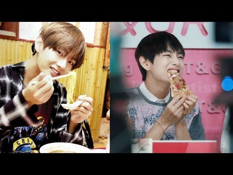 BTS V Eating Time Kpop [VGK]