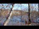 Һәләүектә боҙ киткән мәл Ишәй ауылы Аҫылмалы күпер яғы 07 04 18