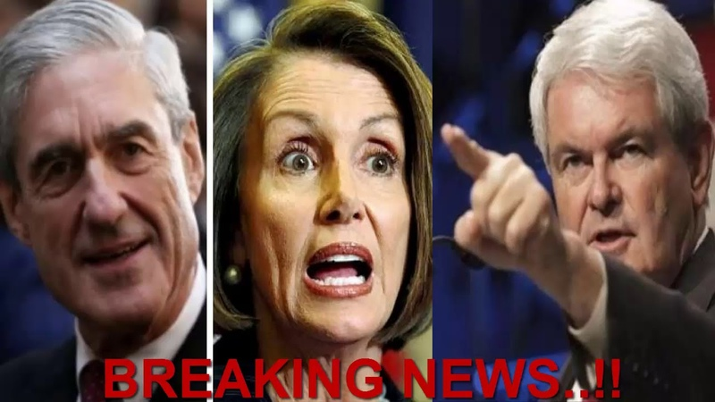Pelosi, Mueller Shaking After Gingrich Released THIS TRUTH! THEY FOUND EVERYTHING!!