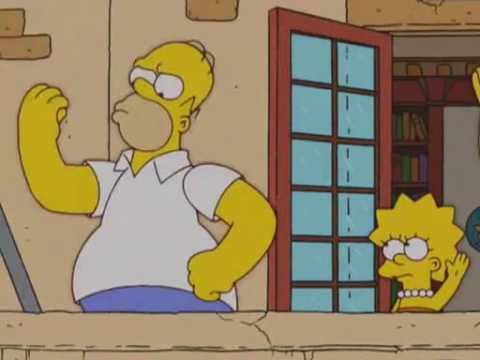 Homer Simpson Donald Trump = Benito Mussolini