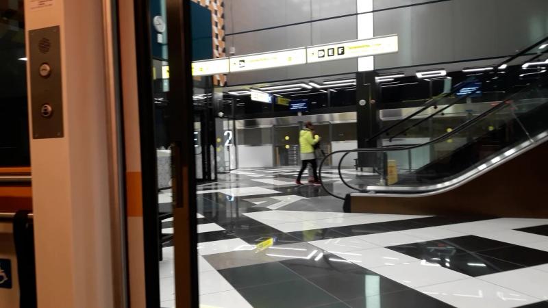 В беспилотном шаттле аэропорта Шереметьево ДоступЕсть