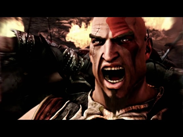 God of War - How Kratos Got The Blades of Chaos Cutscene (4K HD 60fps)