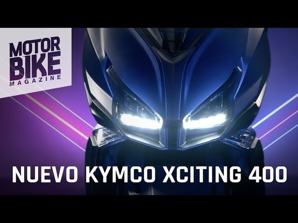 KYMCO XCITING 400 S 2018 - Vídeo oficial