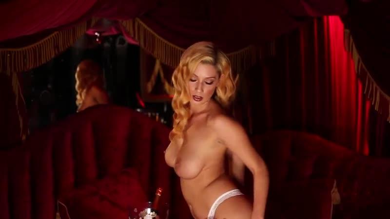 Секси Клип Anna dancing in a Red Room (Эротика SWAG Девушки Sexy Music Video Cli