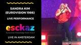 ESCKAZ in Amsterdam Sandra Kim (Eurovision 1986) - J'aime la vie