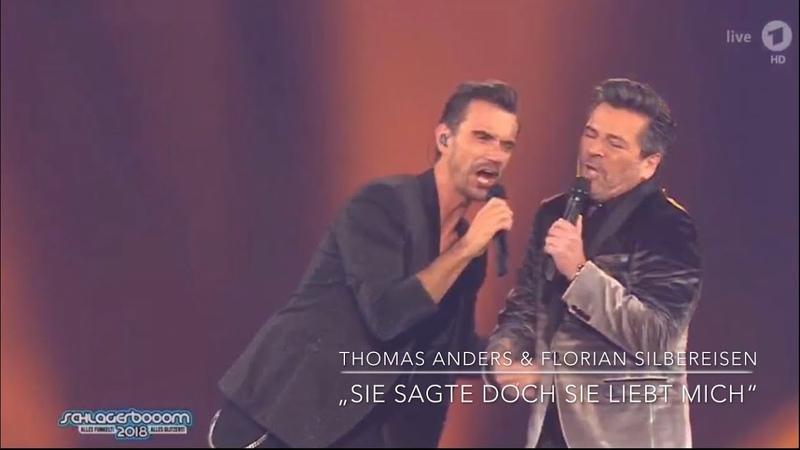 """Thomas Anders Florian Silbereisen - """"Sie sagte doch Sie liebt mich"""" (Schlagerboom 2018)"""