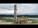 DIY Drilling Rig for Drilling Water Wells - Cardboard Toy