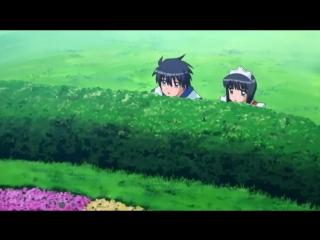 Прячемся любовь наступает Прикол из аниме