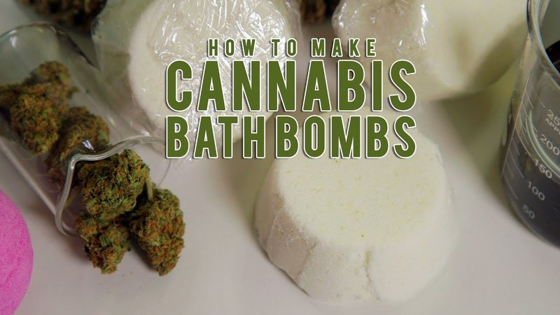 How To Make Soothing Cannabis Bath Bombs: Cannabasics 87 highway420