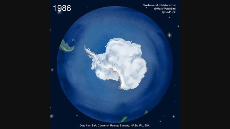 Таяние Антарктиды