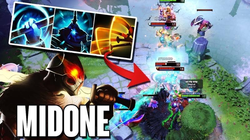 MidOne Juggernaut Blade Master Highlights Dota 2