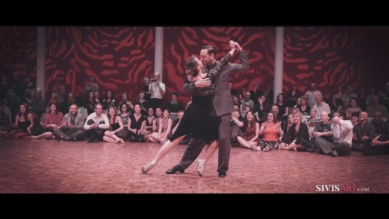 Stéphanie FESNEAU Fausto CARPINO - No hay tierra como la mia - Tango exhibition by Sivis'Art