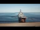 Высадка морского десанта Северного флота на побережье Чукотки в рамках маневров Восток-2018 .