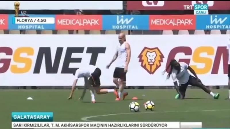 Jasen Denayer Açıklamaları ve Galatasaray Antremanı 3 Mayıs 2018