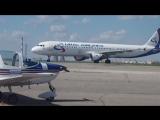 Airbus A321 Уральские авиалинии.