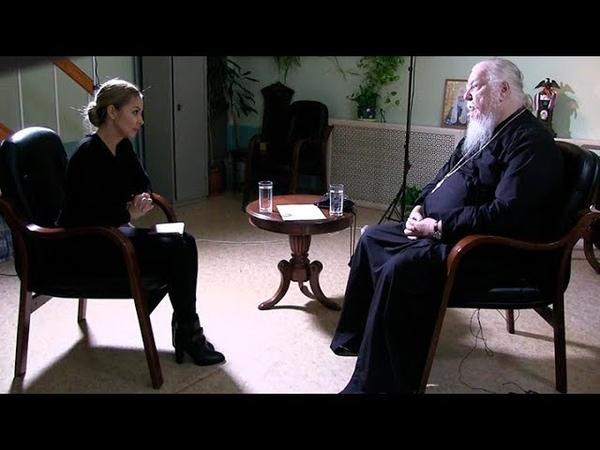 Протоиерей Димитрий Смирнов. Интервью для документального фильма казахского телеканала Хабар