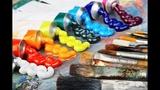 Стоит ли экономить на материалах для живописи Холсты, краски, кисти.