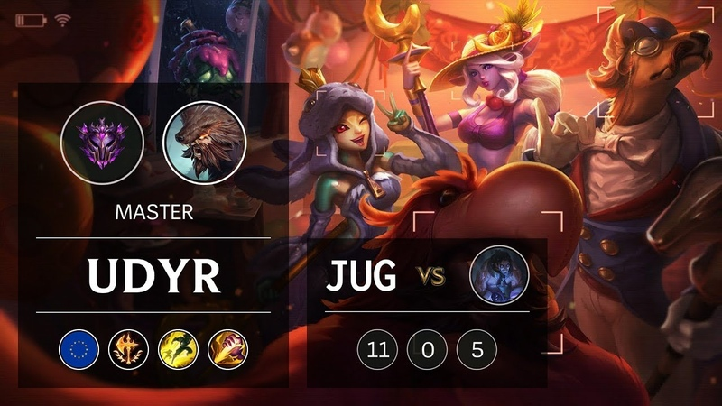 Udyr Jungle vs Sylas - EUW Master Patch 9.6