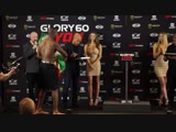GLORY 60 Lyon Official Weigh-Ins Английский,19.10.2018