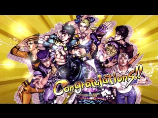 JoJos Bizarre Adventure: All Star Battle - English Credits